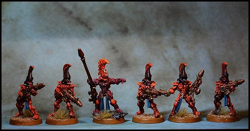 Eldar Aspect Warriors - Fire Dragons