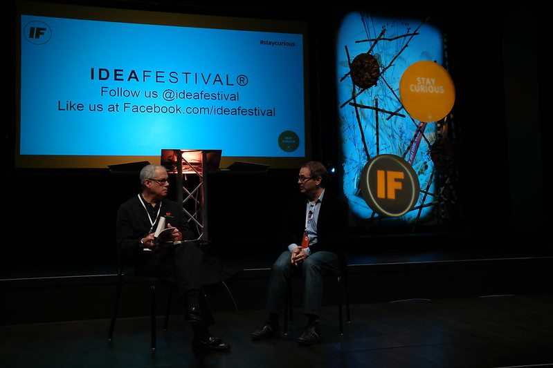 Morning conversation with Kevin Smokler #IF13