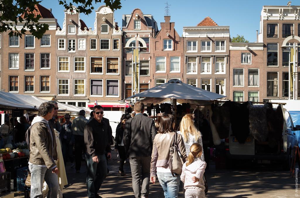 Amsterdam, Sunny Say at Nieuwmarkt