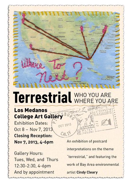 art show postcard terrrestrial vert
