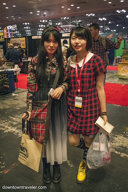 NY Comic Con Womens Costume Plaid