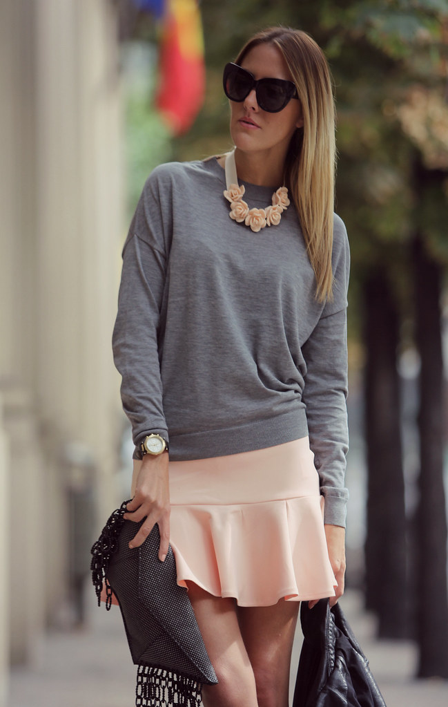 style lover pink skirt III