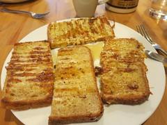 meal, breakfast, vegetarian food, food, dish, cuisine, toast, french toast,