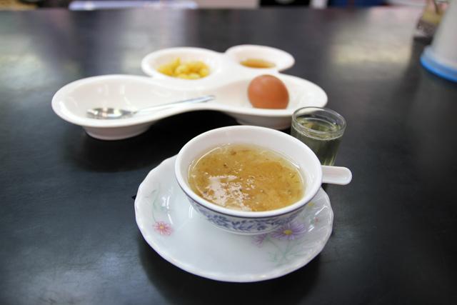 Bird's nest soup combo meal