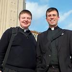 bus chaplains fr tom and fr bryan