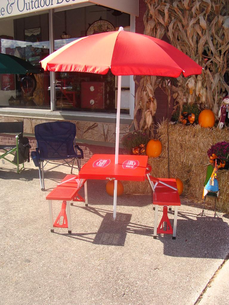 Coca Cola Umbrella Table Murphy N C Lamar Flickr