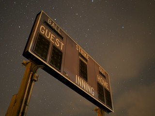 Night sky scoreboard | by ramendan