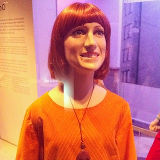 Nordiska Museet - the most frightening mannequin I've ever seen.