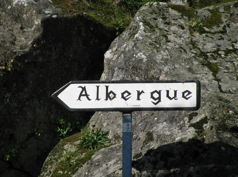 7. Una buena noticia. Padrón, camino Portugués. Autor, Compostelavirtual