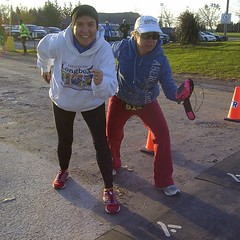 At the starting line with @irinasouiki. @hmroad2hope