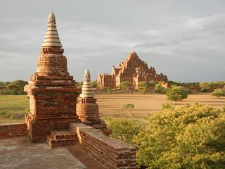 North Guni Temple view of Dhammayangyi Temple