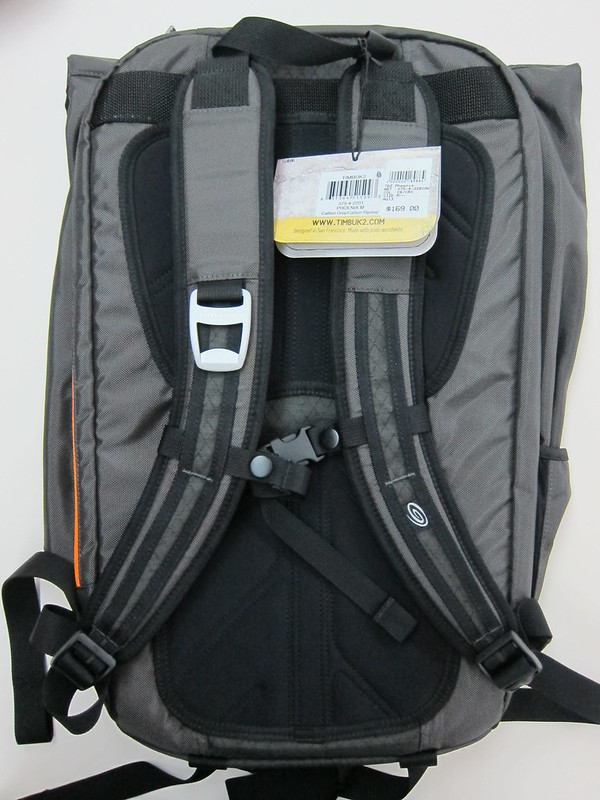 Timbuk2 Phoenix Cycling Backpack - Back View