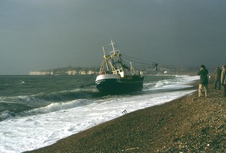 Storm Wrecked At Seaford - 3