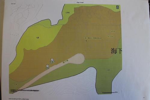 城規會建議在海下劃出的鄉村式發展範圍