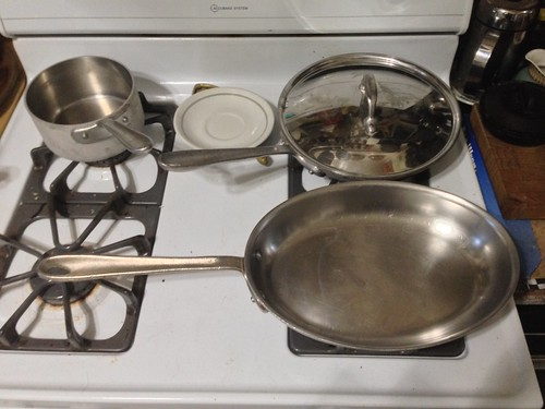 Master Chef by All-Clad 4 piece cookware set