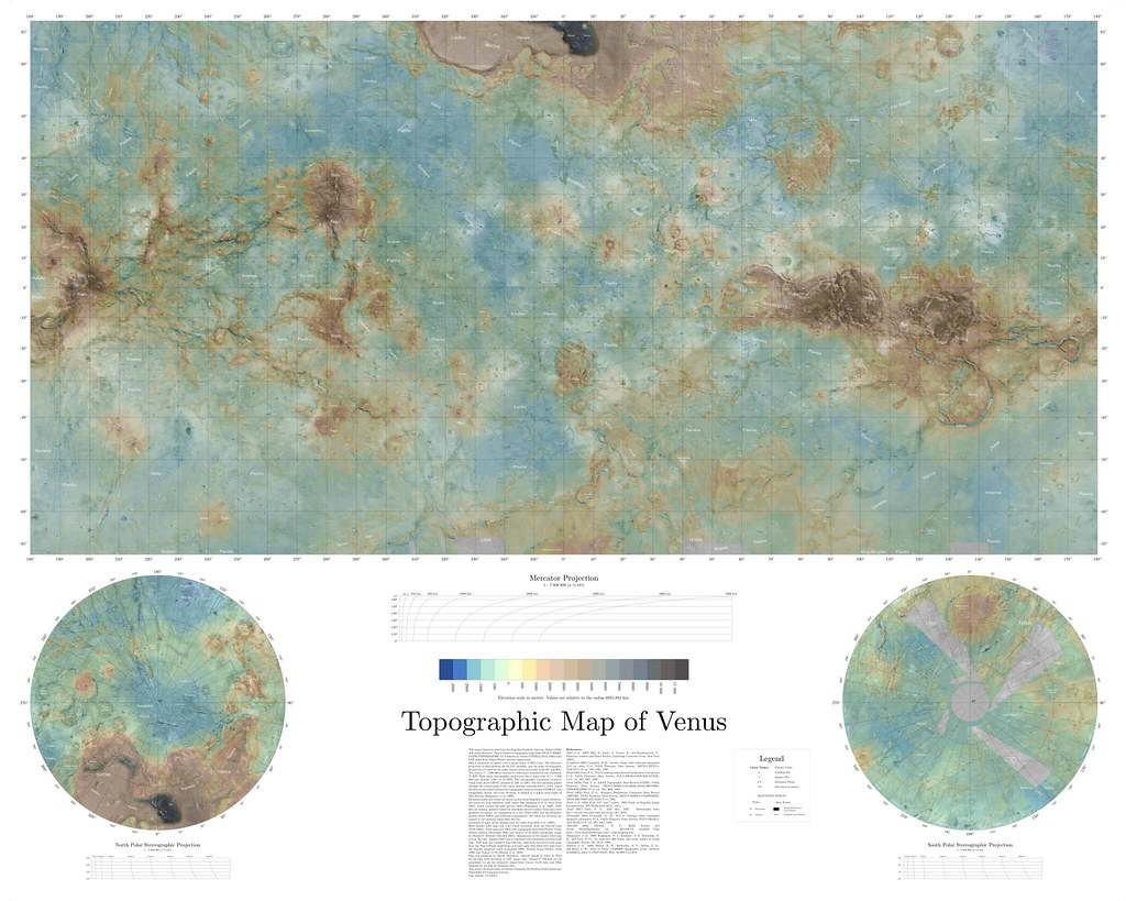 Venus Topographic Map | autobedrijfmaatje on proportional symbol map, isoline map, azimuthal map, ortelius map, conical map, thematic map, gall peters map, fuller map, peters projection map, chloropleth map, flow line map, cylindrical map, latitude map, polar map, robinson map, conic map, mollweide projection map, gnomic map, equal area map, physical map,