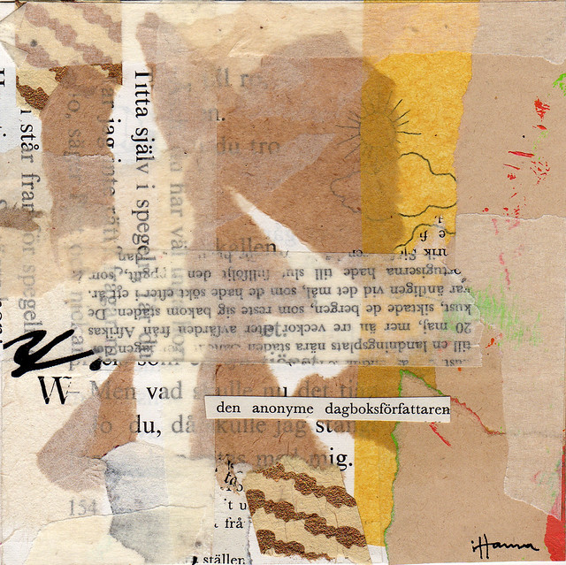 Collage: The Anonymous Diary Writer