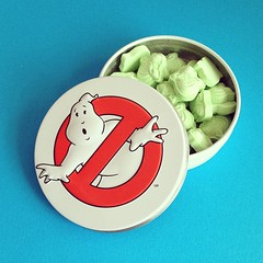 Slimy ghostbuster mints