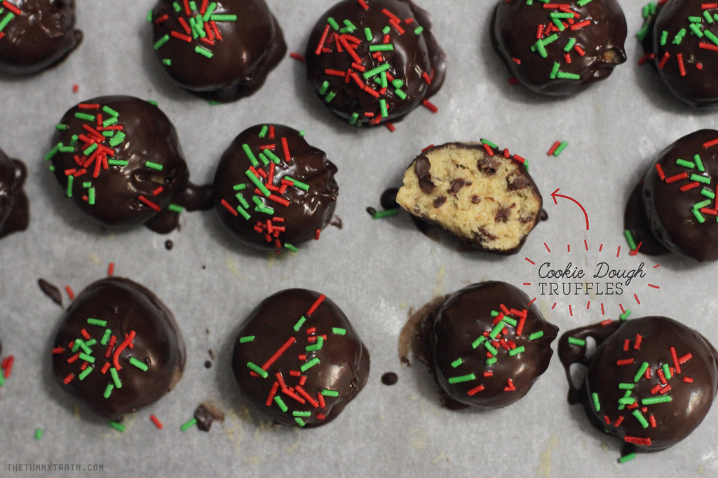 11188730674 ed565bdbff b - {Christmas Countdown 2013} Cookie dough truffles you'll want to make all-year round