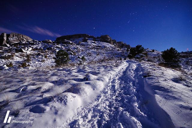 Nocturnas en la nieve