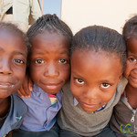 Young Faces, Namibian School Girls - Namibia