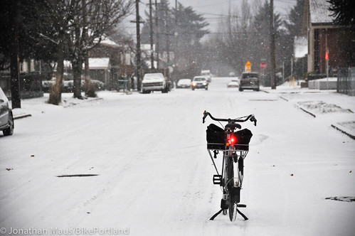 Snow scenes in Portland-3