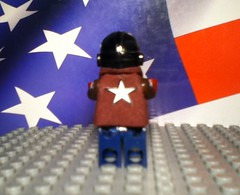 Lego ww2 Captain America (upgrade)