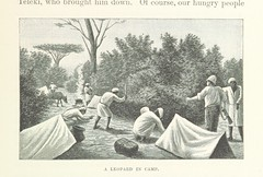 "British Library digitised image from page 135 of ""Discovery of Lakes Rudolf and Stefanie: a narrative of Count S. Teleki's exploring and hunting expedition in Eastern Equatorial Africa ... Translated by N. Bell. With ... illustrations, etc"""