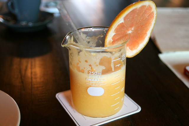 Orange and Grapefruit Juice never tasted so good!