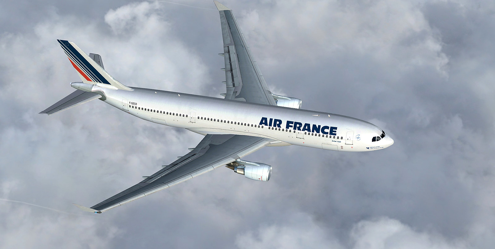 air france a330 200 paris charles de gaulle nice cote d 39 azur videos screenshots. Black Bedroom Furniture Sets. Home Design Ideas