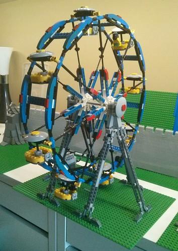 lego ferris wheel 4957