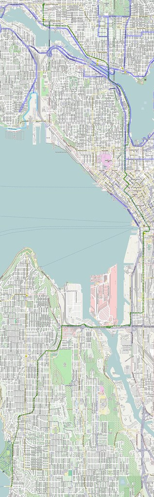 Part 1: To Fauntleroy Ferry Terminal
