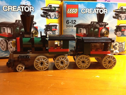 Lego 31015 Creator Emerald Express