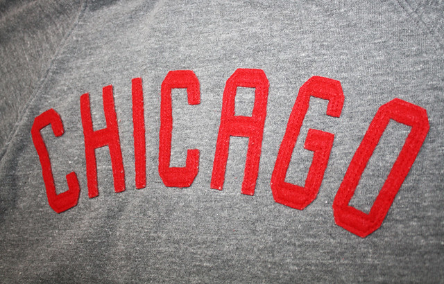 Sportiqe Black Label Chicago Bulls Lettering