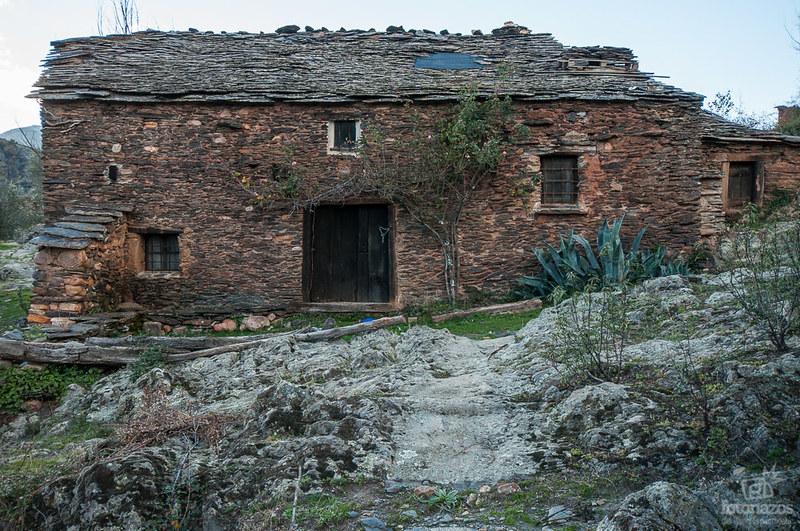 El pueblo abandonado de La Vereda en Guadalajara