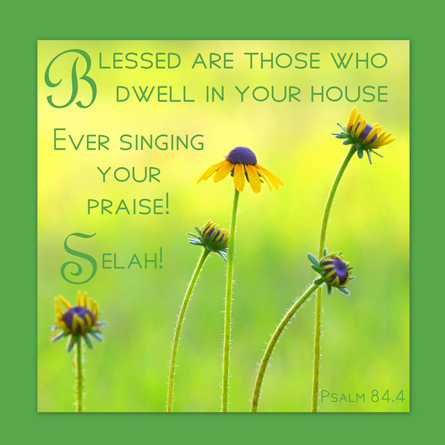 Psalm 84.4