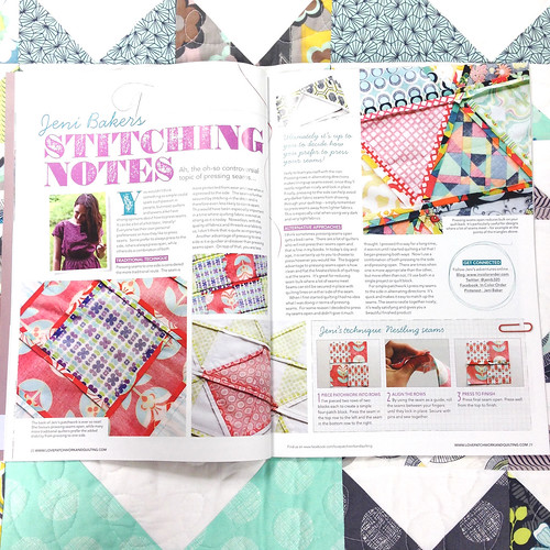 Love, Patchwork & Quilting - Issue 3 by Jeni Baker