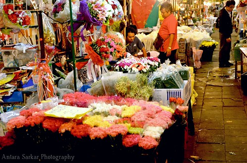 Midnight Flower Market