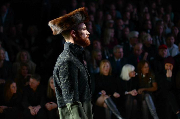 Aziz Bekkaoui Fashion week 2014, Fall winter 2014
