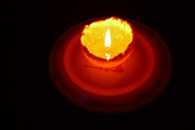 mandarin votive