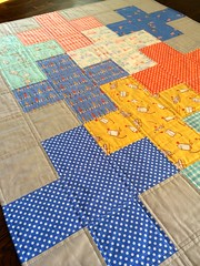 Children at Play Plus Baby Quilt