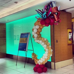 Gettin' our Chinese New Year on inside #Intel headquarters.