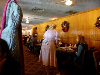 Mrs. Knotts Chicken Dinner Restaurant  Waitress - Photo By Keith Valcourt