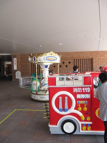 函館競馬場の遊具