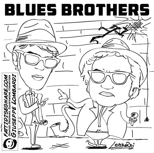 Blues Brothers by Giuseppe Lombardi