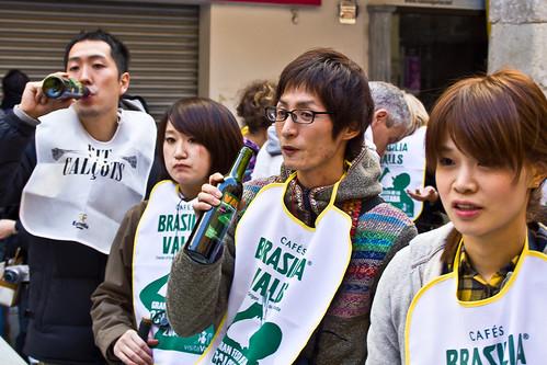 Japoneses en Valls