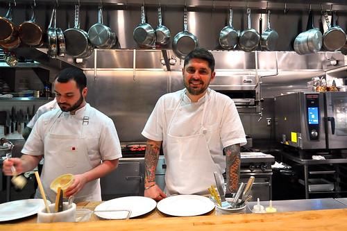 Chef Ludo Lefebvre at Trois Mec