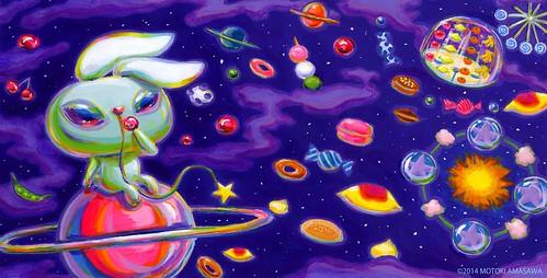 星うさぎの絵本5