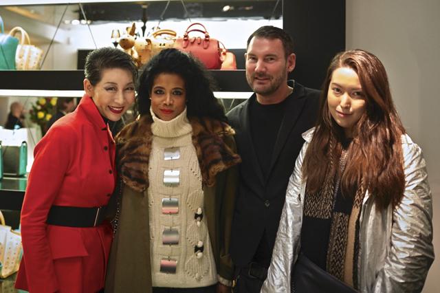 2014 MCM Feb Berlin 60 Sung-Joo Kim, Kelis Michael Michalsky, Jee Hae Kim