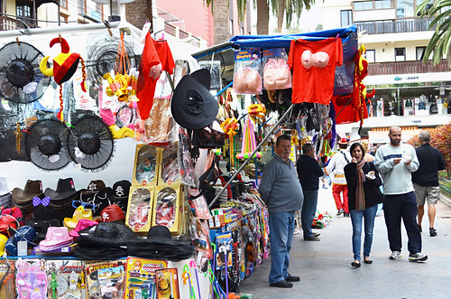 Costume Stall, carnival, Puerto de la Cruz, Tenerife
